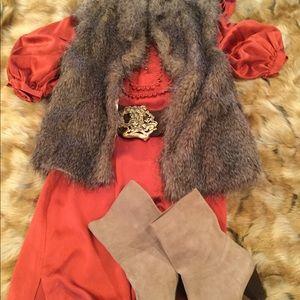 ABS Allen Schwartz Collection Satin Dress